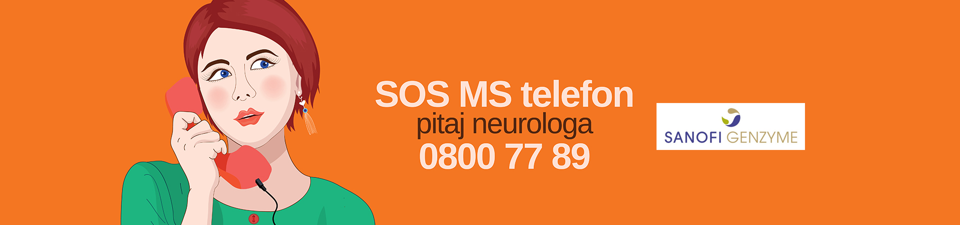 SOS MS telefon – pitaj neurologa