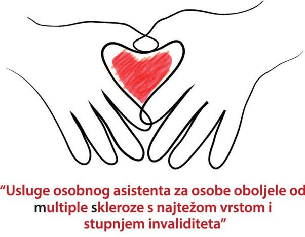 Usluge osobnog asistenta za osobe oboljele od multiple skleroze s najtežom vrstom i stupnjem invaliditeta