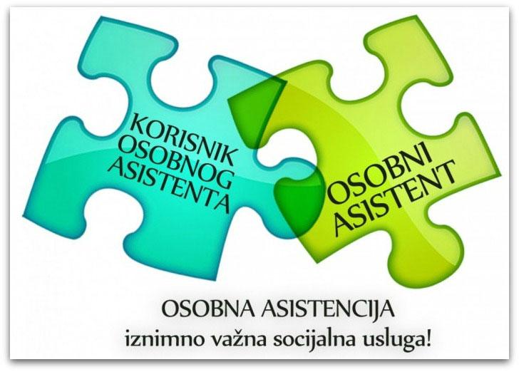 Usluge osobnog asistenta za osobe s najtežim stupnjem i vrstom invaliditeta
